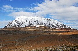 Килиманджаро - вершина