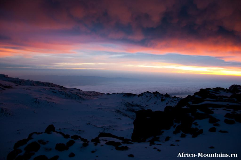 Маршрут Лемошо - Килиманджаро