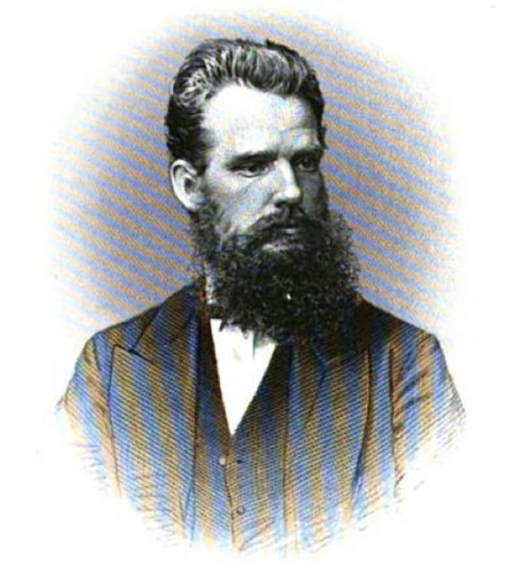 Хипстерская борода неудачливого английского миссионера Чальза Нью.