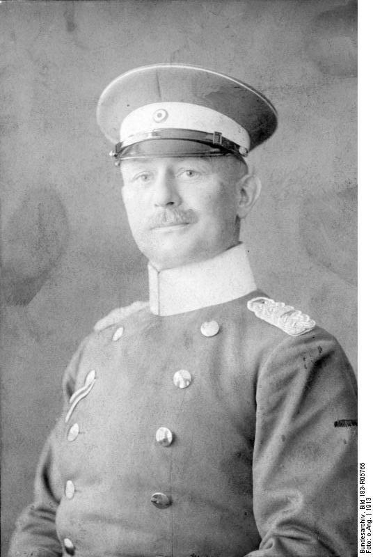 Полковник-партизан Леттов-Форбек
